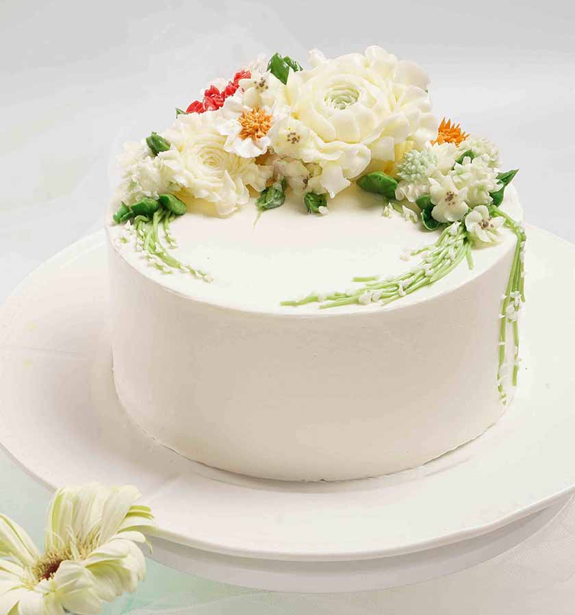 裱花蛋糕培训作品