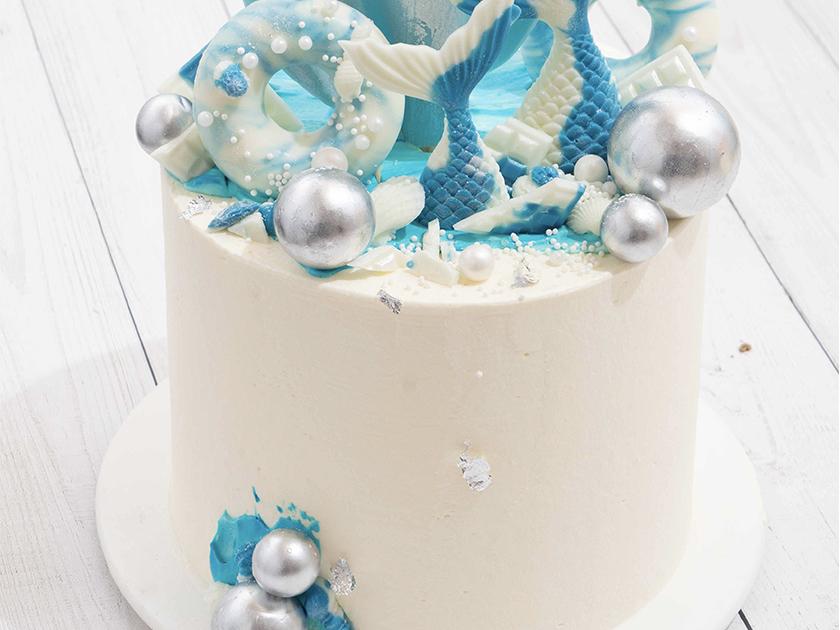 艺术蛋糕作品6