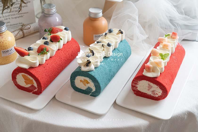 蛋糕卷怎么卷?蛋糕卷内捲法