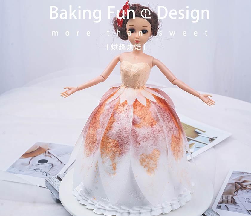 烘趣蛋糕培训学校教您芭比
