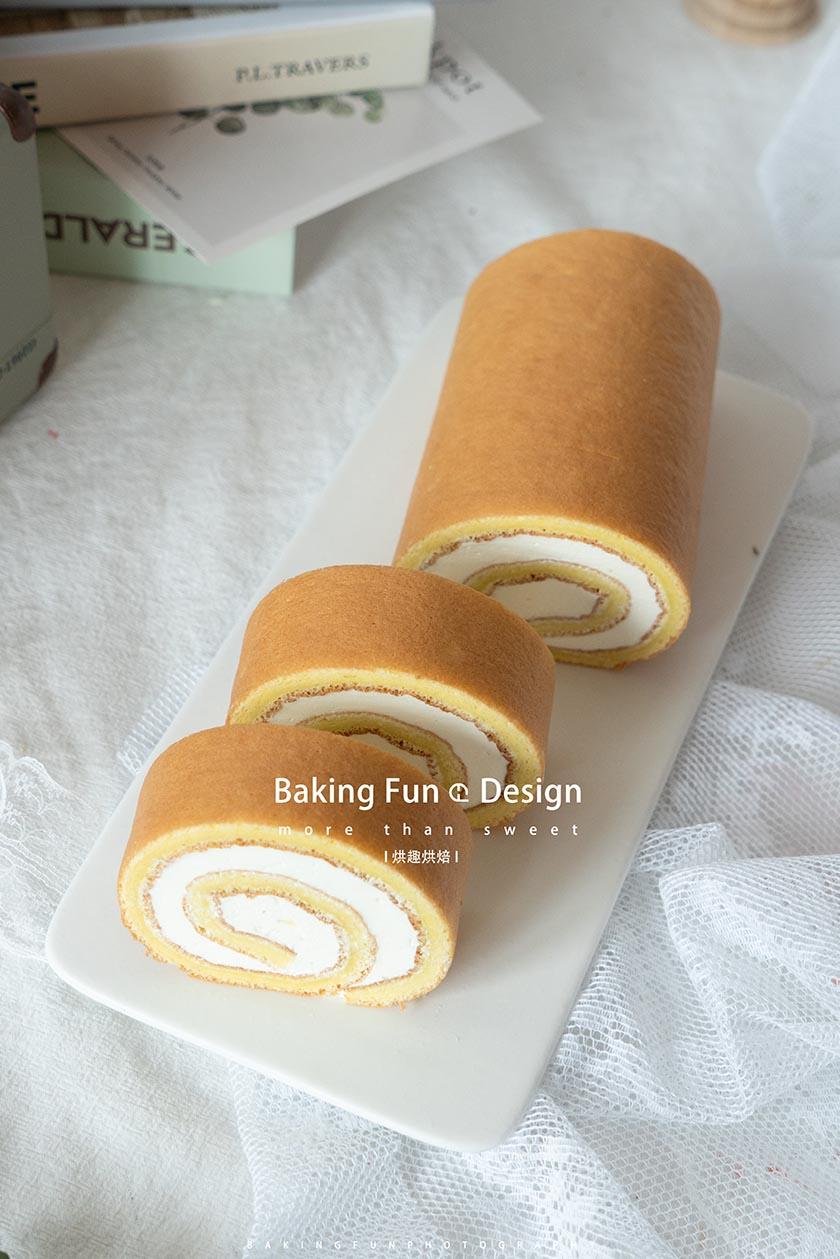 原味鲜奶油蛋糕卷的做法
