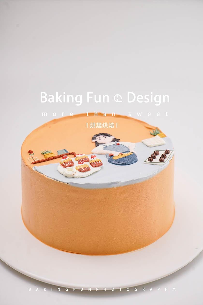 想学做蛋糕